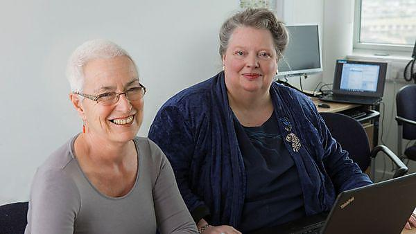 Professor Kim Stevenson and Research Fellow Judith Rowbotham