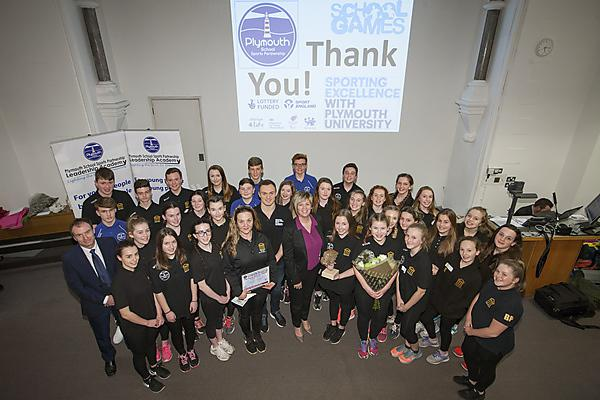 Sports ambassadors recognised at inspiring day