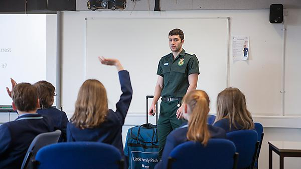 Students deliver life-saving skills to schools