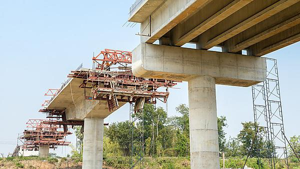 road bridge under construction