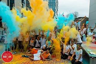 Campus Colour Dash - Explosion of Colour