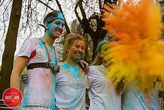 Campus Colour Dash - Explosion of Colour