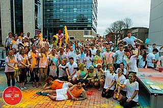 Campus Colour Dash for Brain Tumour Research