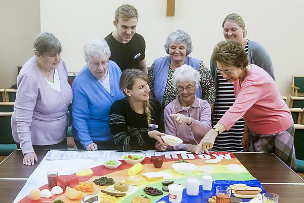 Dental student project makes a difference to isolated over 50s