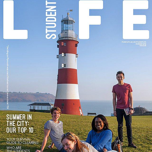 Student life magazine