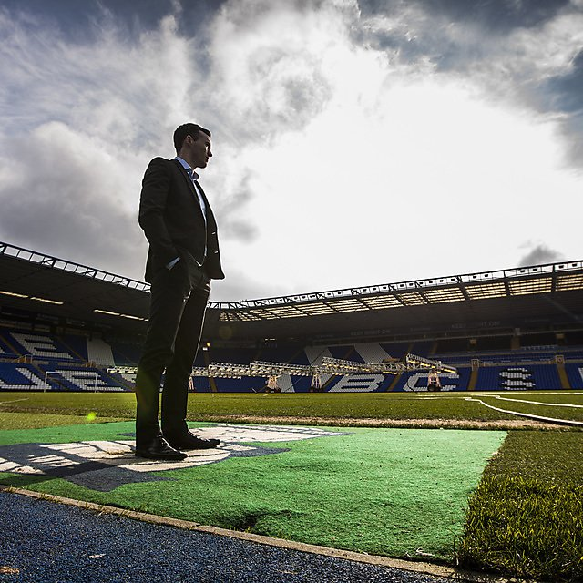 Tom Rowell at Birmingham City Football Club