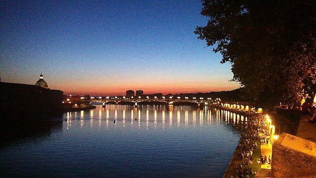 sunset image for student life magazine