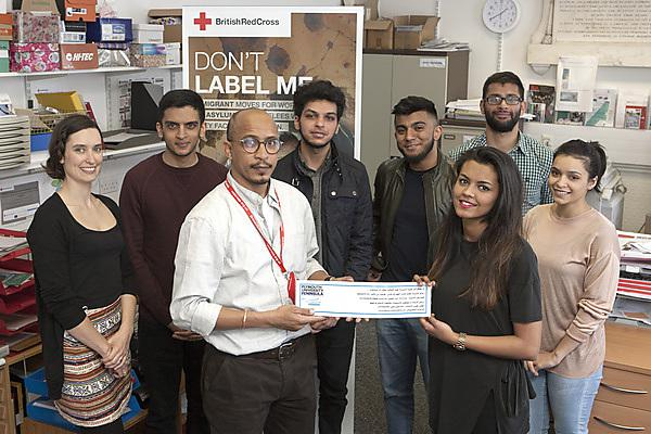 Refugees benefit from dental student project