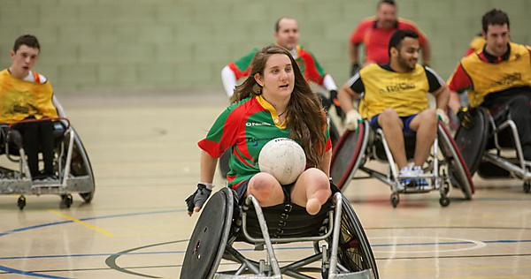 Faye West and the Westcountry Hawks team