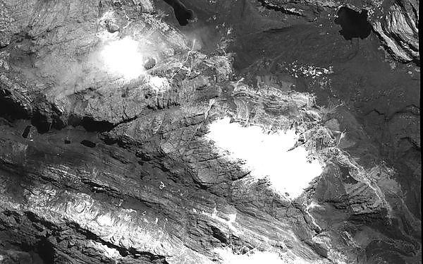 Satellite images reveal dramatic tropical glacier retreat