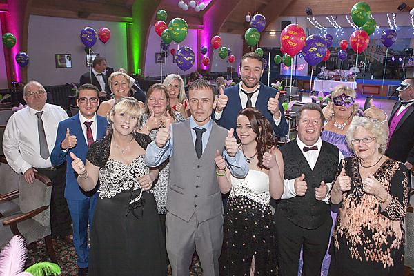 Ball raises £5,000 for Plymouth Huntington's disease research