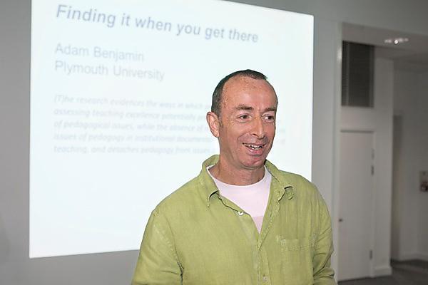 Keynote speaker Adam Benjamin