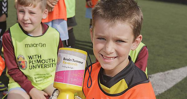Devon Junior Minor League fundraising for Brain Tumour Research