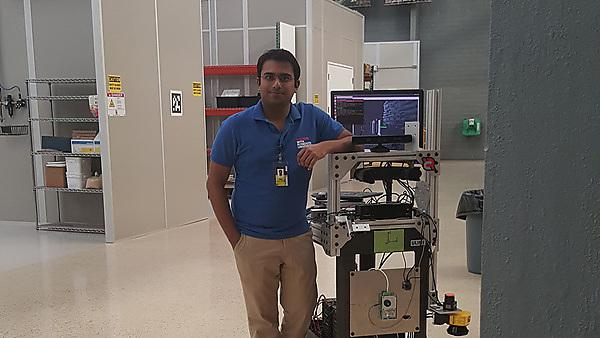Rajshekar Prabhakar – MSc Robotics Technology graduate