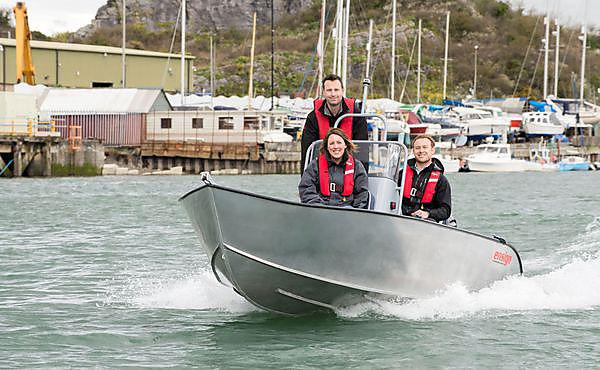 Devon couple launch aluminium boats to UK market