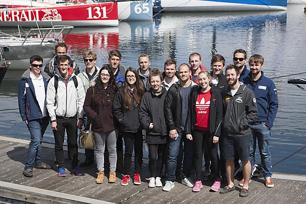 Transat boat tour for students