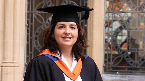 Donna Harris – BEd (Hons) Primary (Early Childhood Studies) graduate