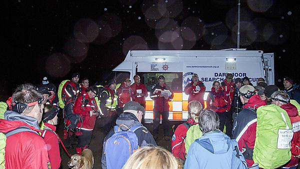 Dartmoor Search and Rescue Team Plymouth GPS simulation