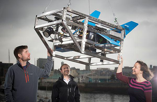 Plymouth team launches underwater filming device
