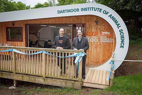 Plymouth University and Dartmoor Zoological Park open new student science centre