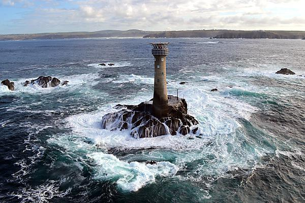 Longships lighthouse in Cornwall
