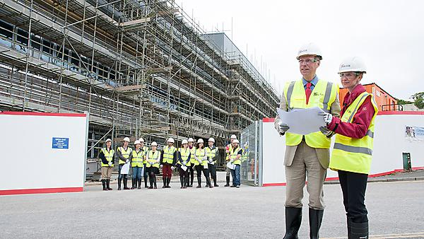 Plymouth scientists get first look at new research facility