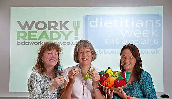 Food for thought as University embraces Dietitians Week