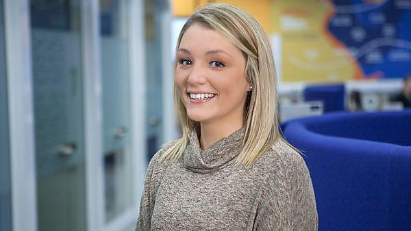 Careers and employability case study - Hannah Yarr, BA (Hons) International Business Year 4