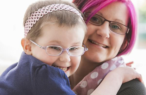 Brain tumour fight inspires mum's charity challenge
