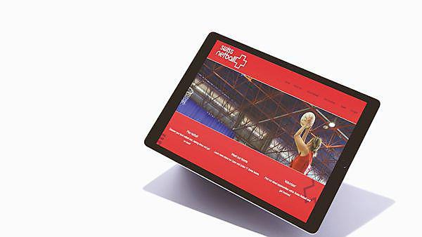 Rebecca Matthews - Swiss netball rebrand