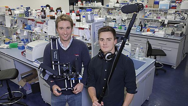 William Jenkins and Ben Hancock – BA (Hons) Media Arts graduates