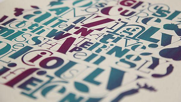 Student work BA (Hons) Graphic Communication with Typography