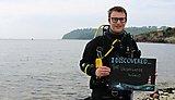 Evan, third year marine biology student