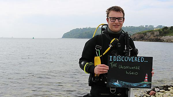 Evan, third year marine biology student