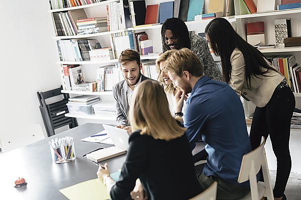 Inspiring Futures students - desk