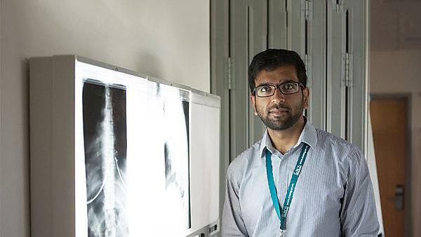 Funding for student spinal surgery project