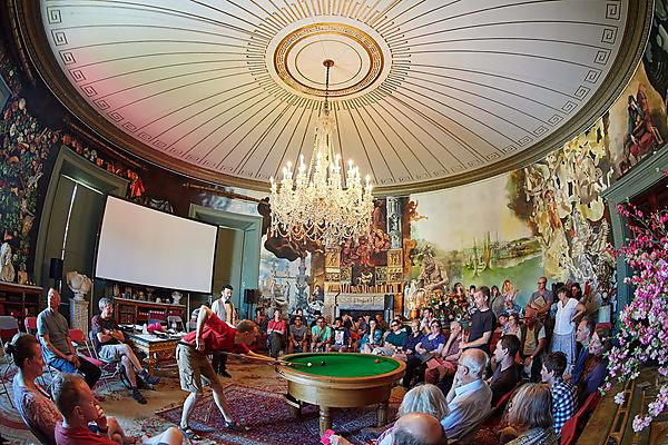 The Round Room at Port Eliot where the Superposition performance will take place - credit: Michael Bowles