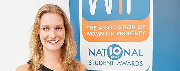 Student wins regional round of Women in Property awards
