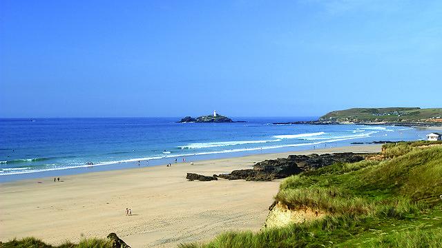 <p>Gwithian beach, Cornwall</p>
