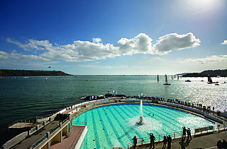 Plymouth Lido is perfect for a dip in those hot summer days