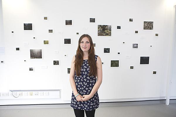 Amie Townshend, BA (Hons) Photography, SEI student research prize winner 2016