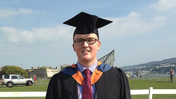 Ellis Rooney – BSc (Hons) Mathematics graduate