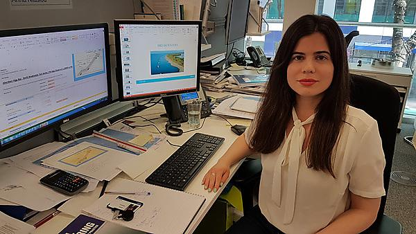 Anna Ntasiou – MSc Coastal Engineering graduate