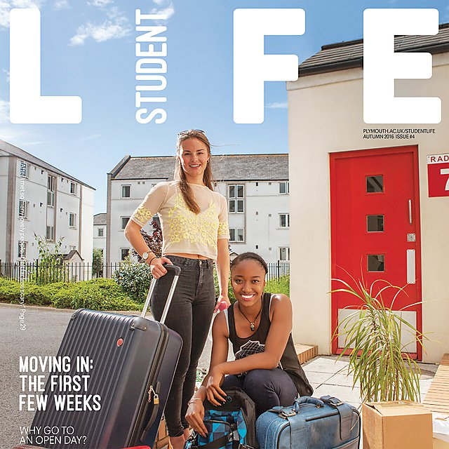 Student Life Magazine issue 4 cover