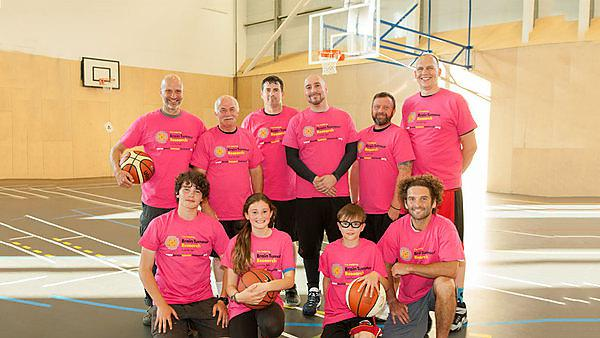 Brain Tumour Research All Stars slam dunk for charity
