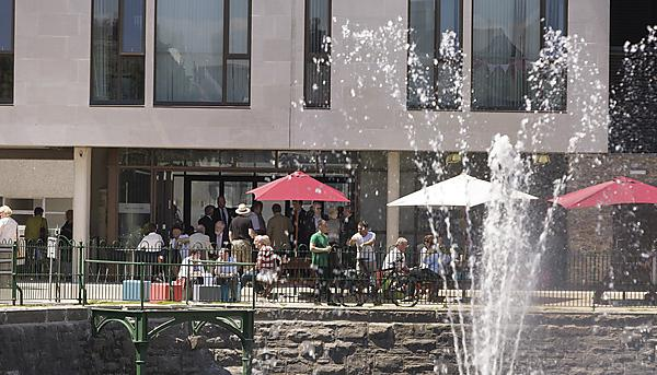 Cafes on campus