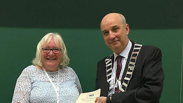 International award for Plymouth University dental educator