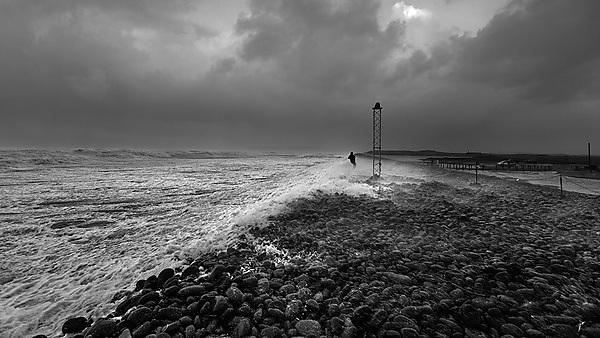 <p>coastal processes research group westward ho! black and white</p>