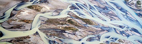<p>Aerial picture of water</p>