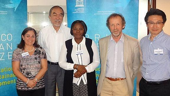 The members of the International Jury for the UNESCO-Japan Prize. Photo courtesy ofUNESCO.